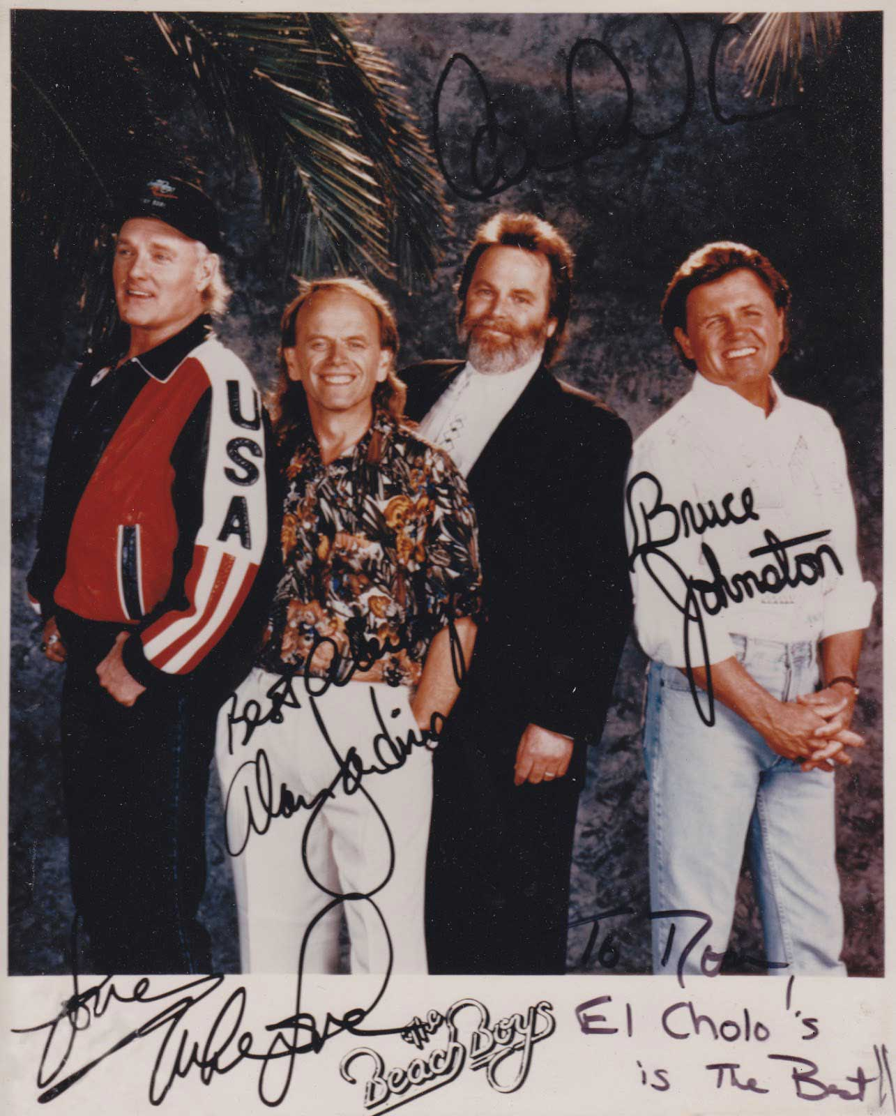 Mike Love (of Beach Boys fame)
